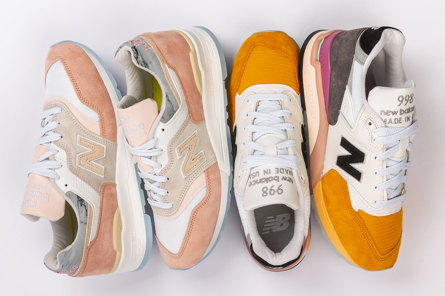 New Balance M997LBH and M998PSD