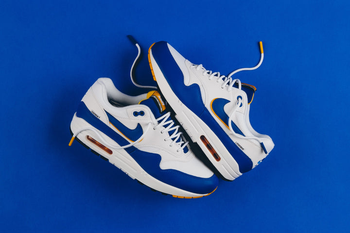 "NIKE AIR MAX 1 SE ""GAME ROYAL/UNIVERSITY GOLD"""