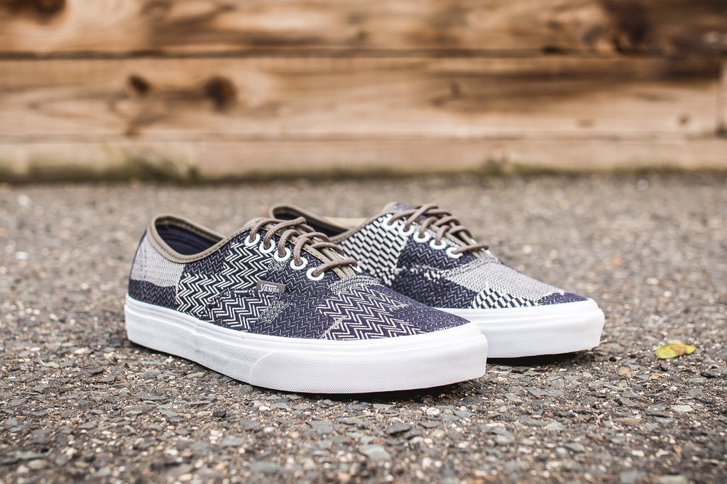 VANS AUTHENTIC (DENIM PATCHWORK)