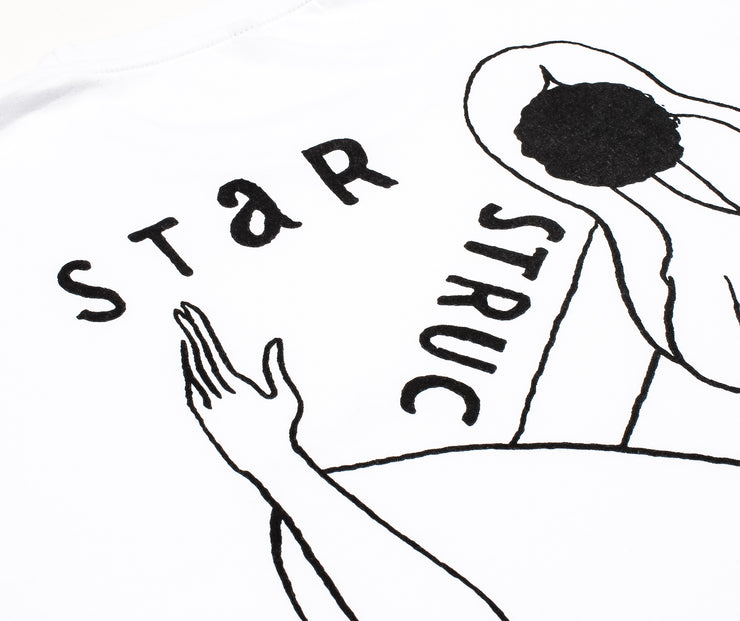 "PARRA L/S ""STAR STRUCK"" T-SHIRT - WHITE"