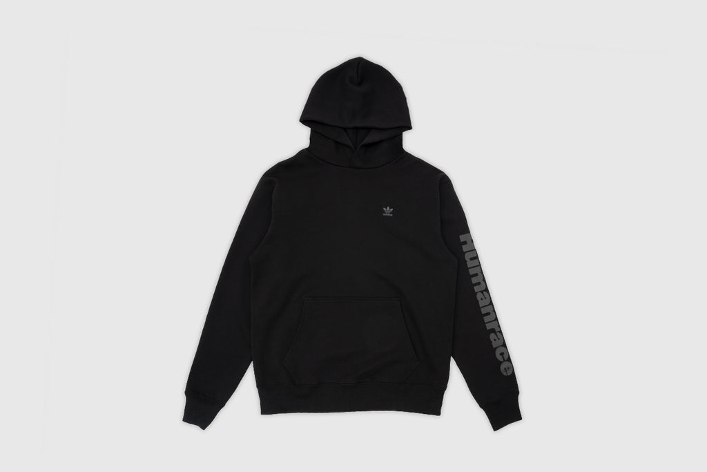 "ADIDAS ORIGINALS BASIC HOOD X PHARRELL WILLIAMS ""BLACK AMBITION"""