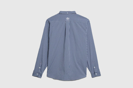 ADIDAS ORIGINALS GINGHAM L/S BUTTON UP SHIRT X HUMAN MADE