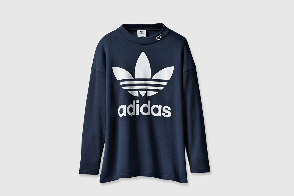 ADIDAS ORIGINALS MOCK NECK SWEATSHIRT X HUMAN MADE