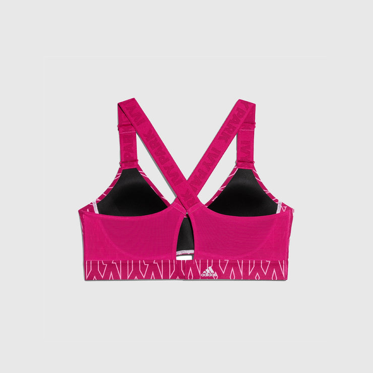 ADIDAS ORIGINALS MEDIUM SUPPORT MONOGRAM BRA (PLUS SIZE) X IVY PARK