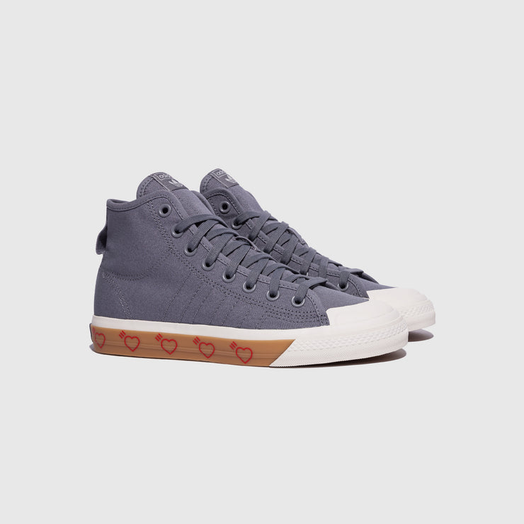 ADIDAS ORIGINALS NIZZA HI X HUMAN MADE