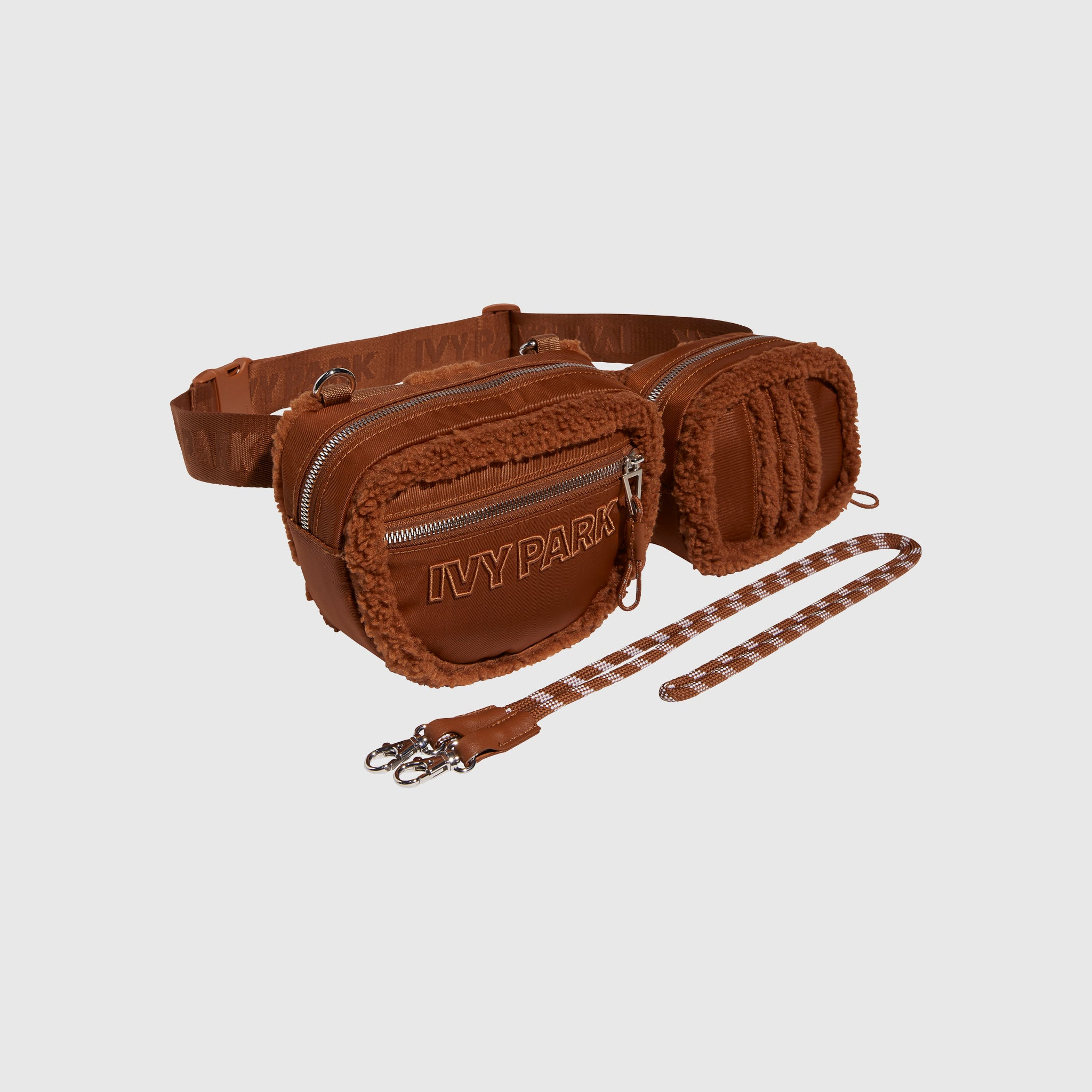ADIDAS ORIGINALS SHERPA BELT BAG X IVY PARK