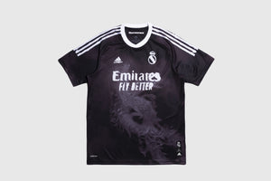 ADIDAS FC REAL MADRID HUMAN RACE JERSEY X PHARRELL WILLIAMS