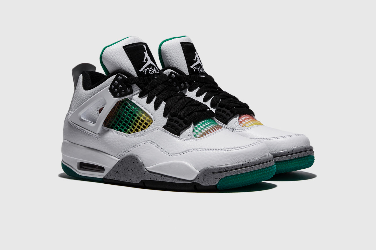 "WMNS AIR JORDAN 4 RETRO ""LUCID GREEN"""