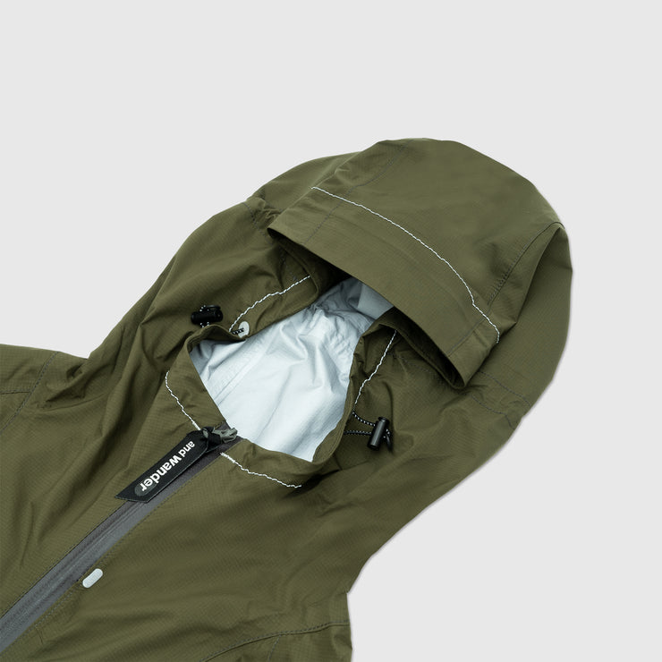 AND WANDER 3L LIGHT RAIN JACKET