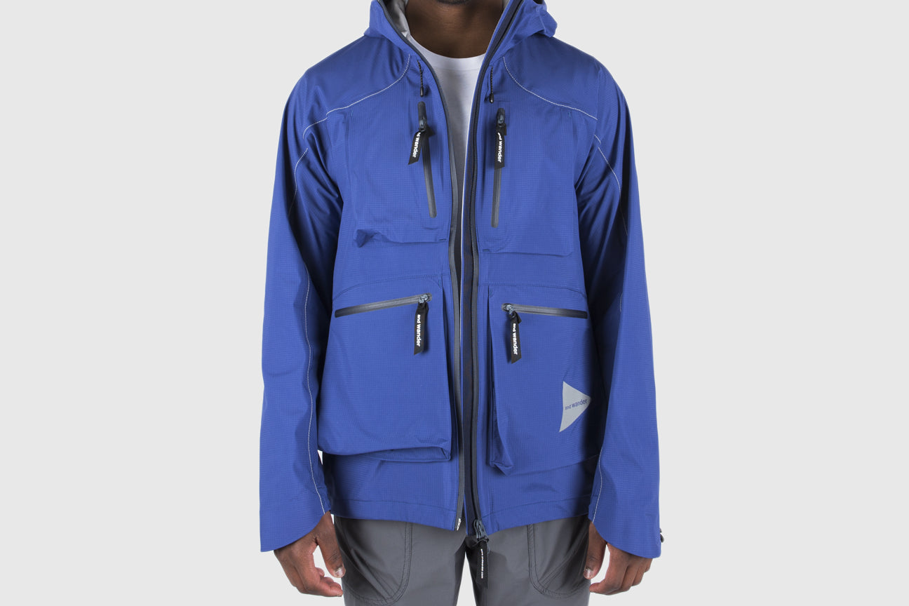 AND WANDER E VENT RAIN JACKET