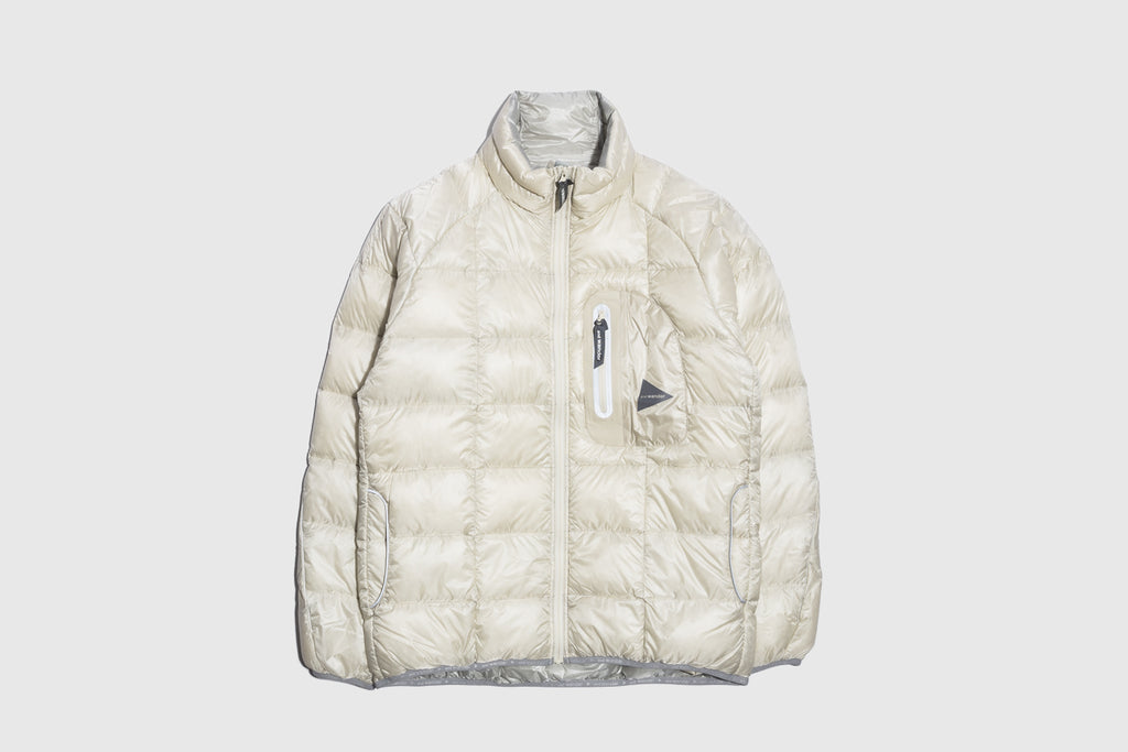 AND WANDER DIAMOND STITCH DOWN JACKET
