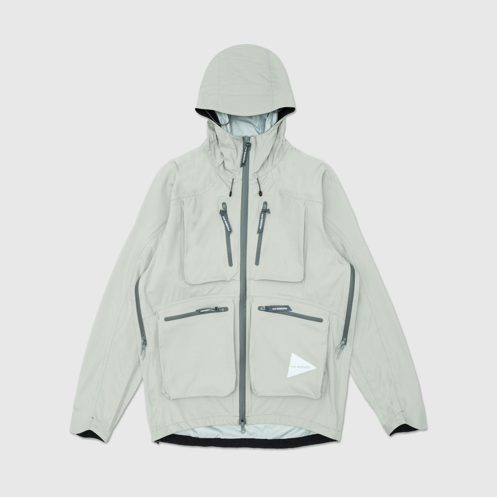 AND WANDER E-VENT POCKET RAIN JACKET
