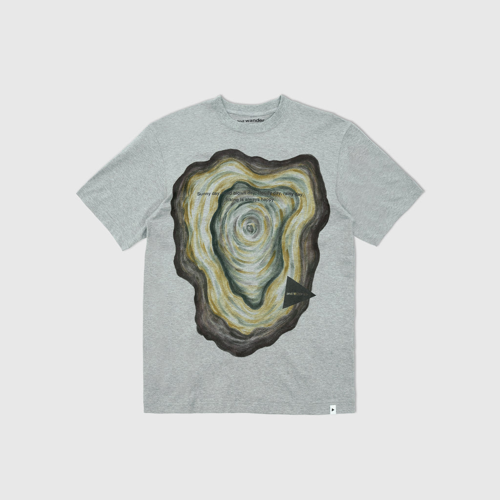 AND WANDER HAND PAINTED STUMP T-SHIRT