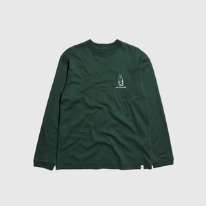 AND WANDER KNIFE RIDGE L/S T-SHIRT