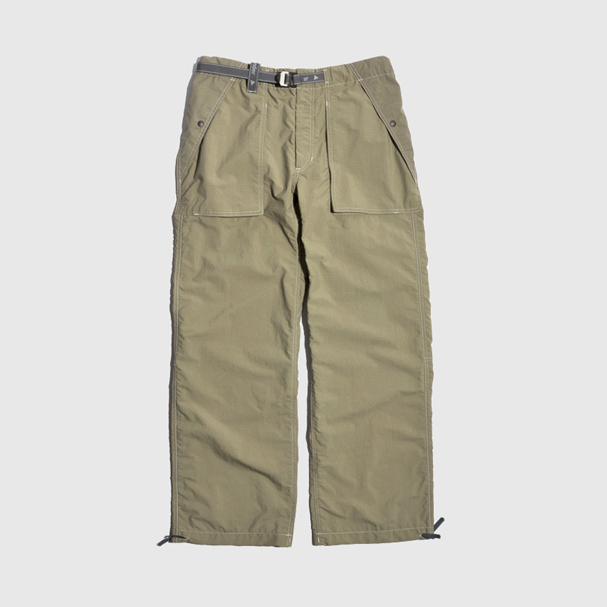 AND WANDER PERTEX NYLON RIPSTOP PANTS
