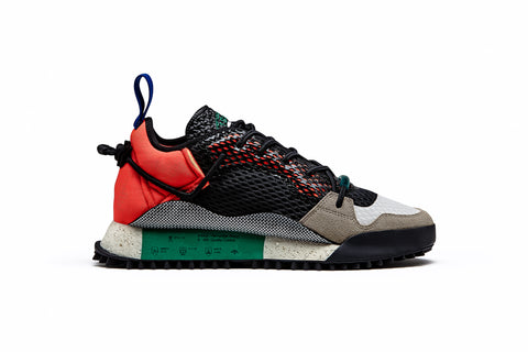 ADIDAS ORIGINALS BY ALEXANDER WANG REISSUE RUN - BLACK/SOLAR RED/GREEN