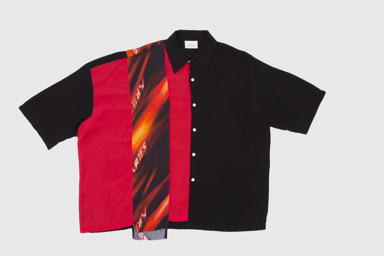 ARIES DECONSTRUCTED HAWAIIAN SHIRT