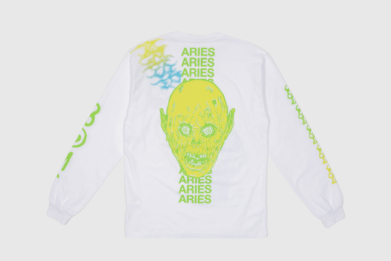 ARIES FRENCH MONSTER L/S T-SHIRT