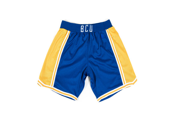 "PACKER X ACTION BRONSON X STARTER ""BCU"" AWAY AUTHENTIC SHORTS - BLUE"