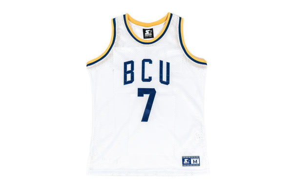 "PACKER X ACTION BRONSON X STARTER ""BCU"" HOME AUTHENTIC JERSEY - WHITE"