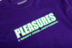 PLEASURE FEEL MY FACE L/S T-SHIRT