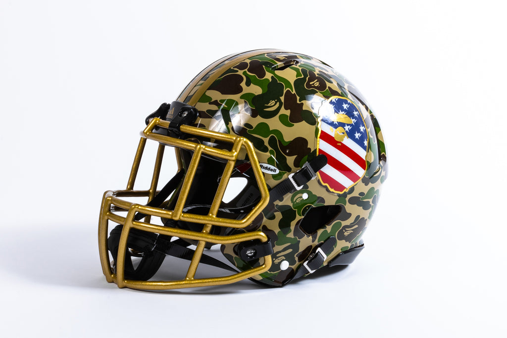 "ADIDAS X BAPE RIDDELL HELMET ""SUPERBOWL COLLECTION"""