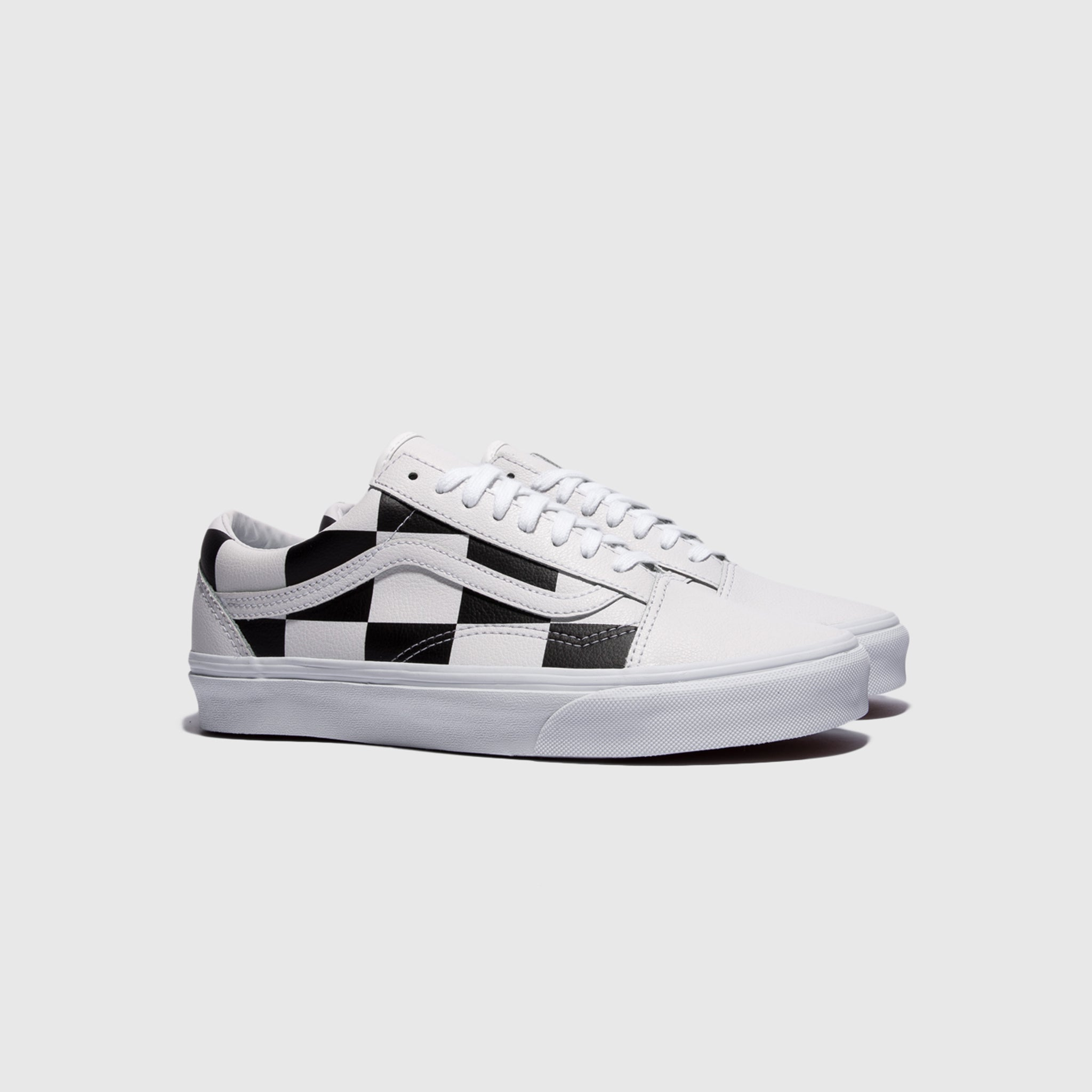 VANS OLD SKOOL (LEATHER CHECK)