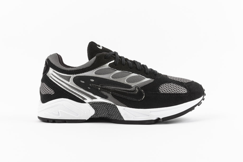 "NIKE AIR GHOST RACER ""BLACK/DARK GREY"""