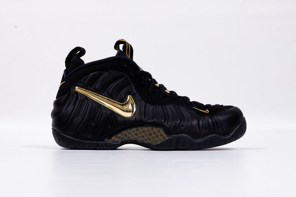 "AIR FOAMPOSITE PRO ""METALLIC GOLD"""