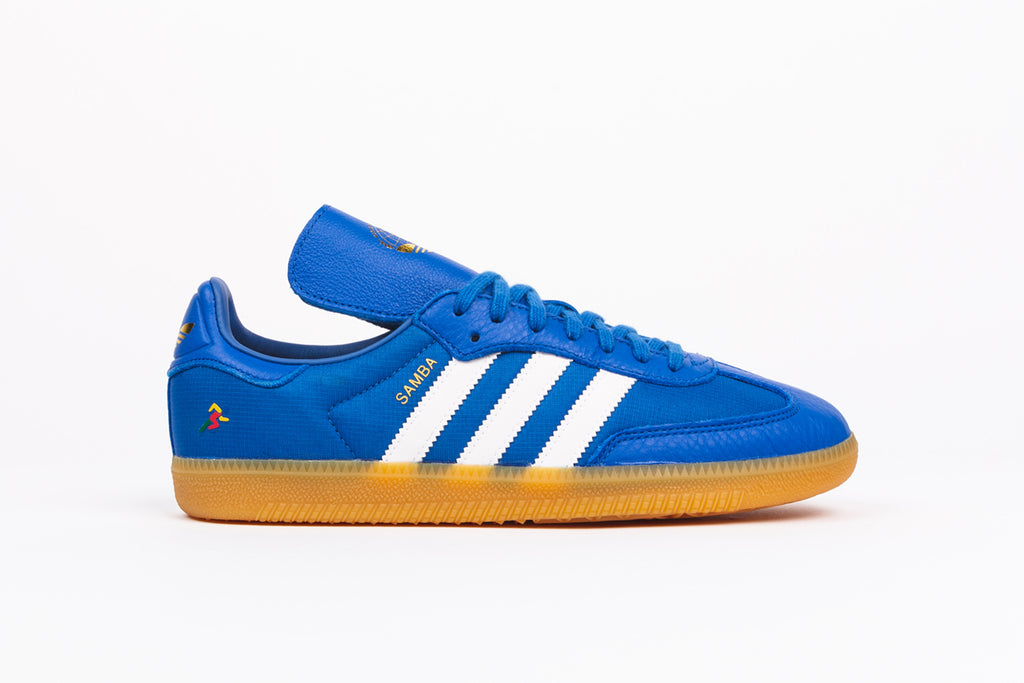 "ADIDAS ORIGINALS SAMBA OG X OYSTER HOLDINGS ""WORLD TRAVELER'S CUP"""
