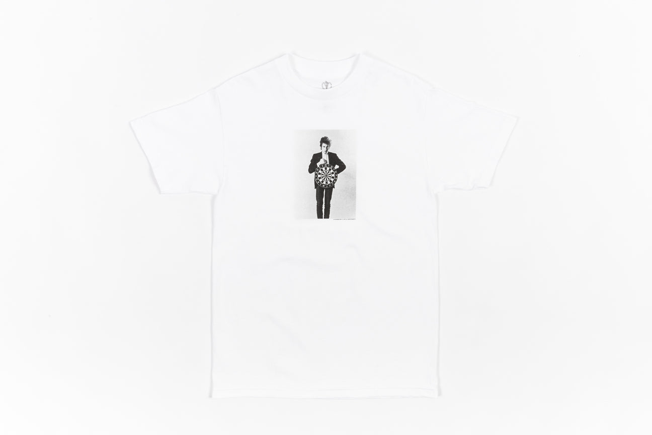 PLEASURES X BOB DYLAN DARTS S/S T-SHIRT