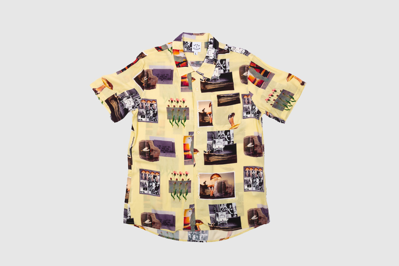 BORN X RAISED AFTER SCHOOL SPECIAL S/S BUTTON UP