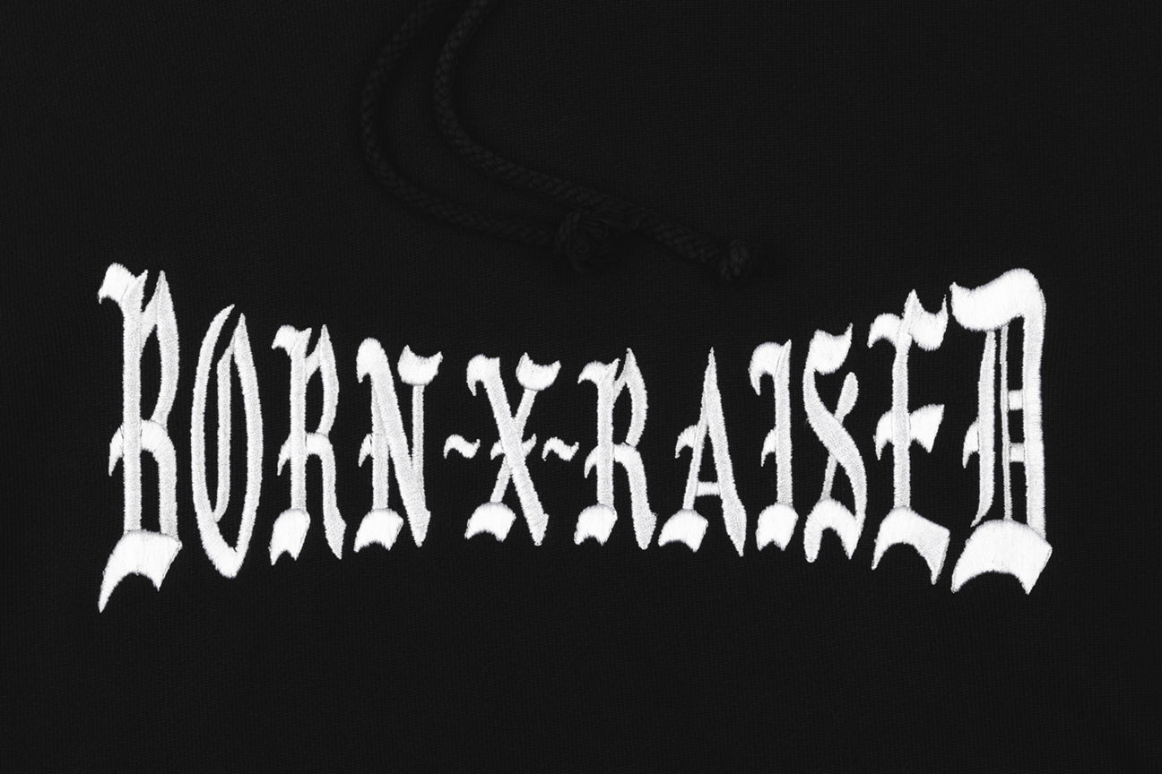 BORN X RAISED BOXER HOODY