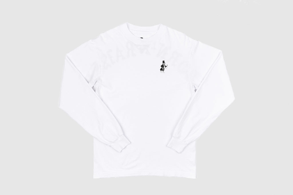 BORN X RAISED BACKSIDE L/S T-SHIRT