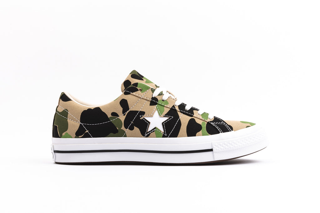 "CONVERSE ONE STAR OX ""CAMO"""