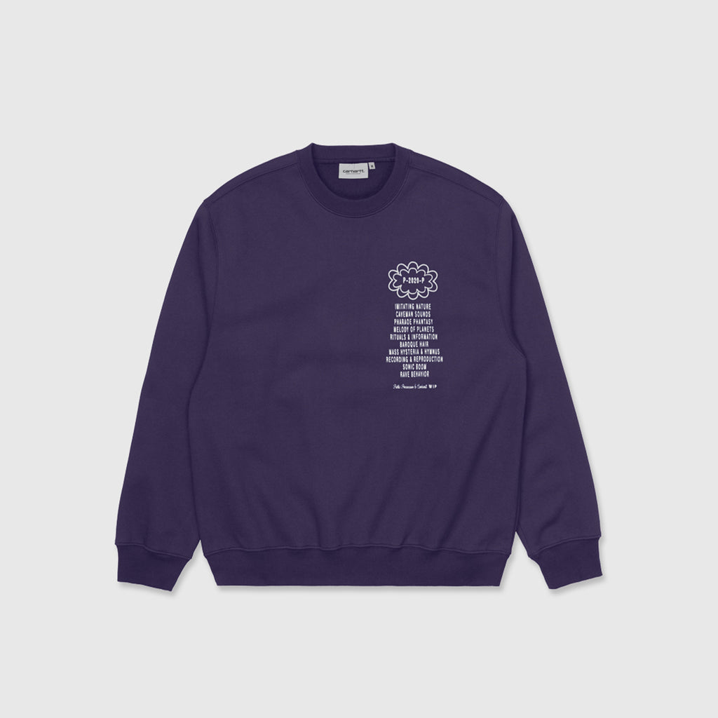 CARHARTT WIP X RELEVANT PARTIES PUBLIC POSSESSION CREWNECK SWEATSHIRT