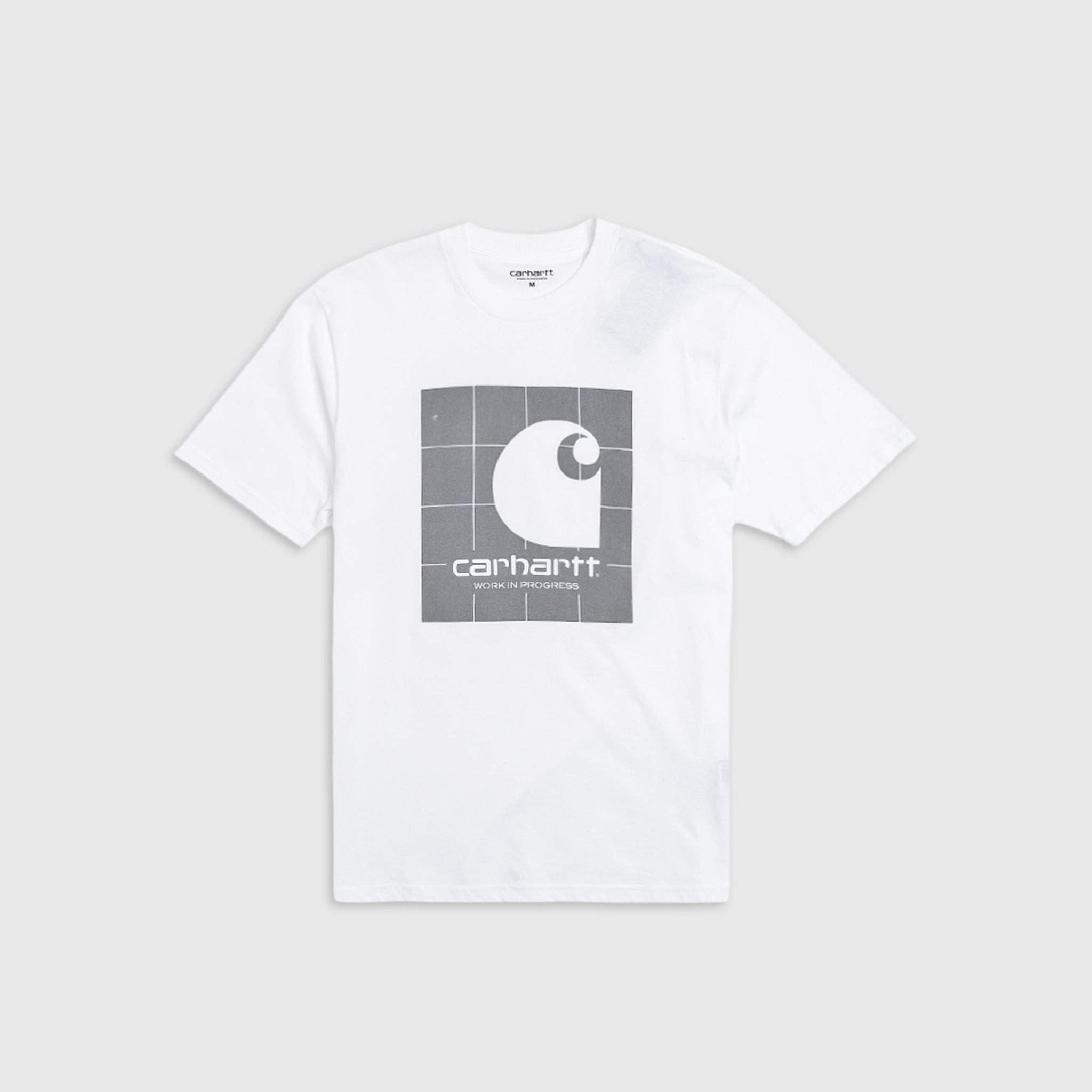 CARHARTT WIP REFLECTIVE SQUARE S/S T-SHIRT