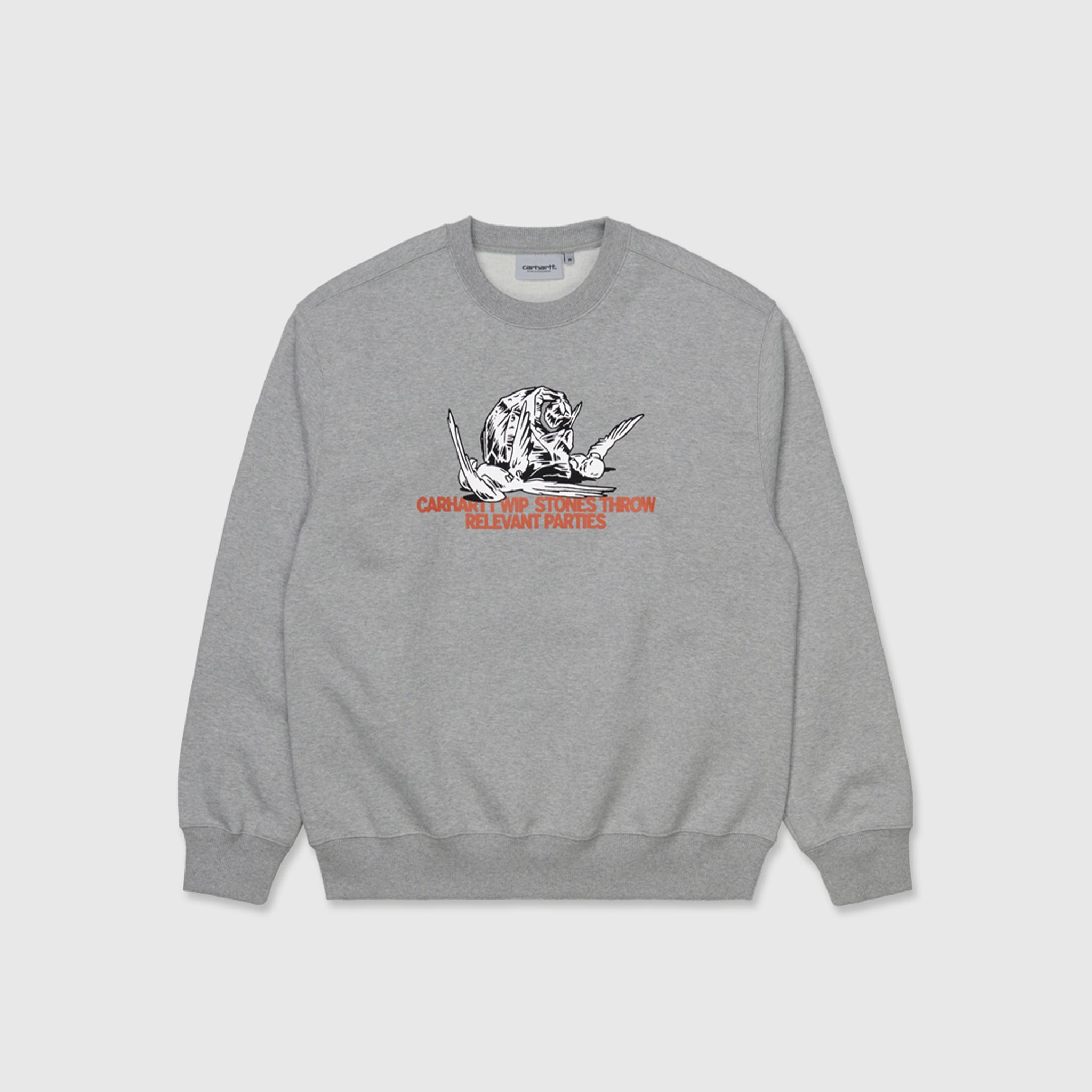 CARHARTT WIP X RELEVANT PARTIES STONES THROW CREWNECK SWEATSHIRT