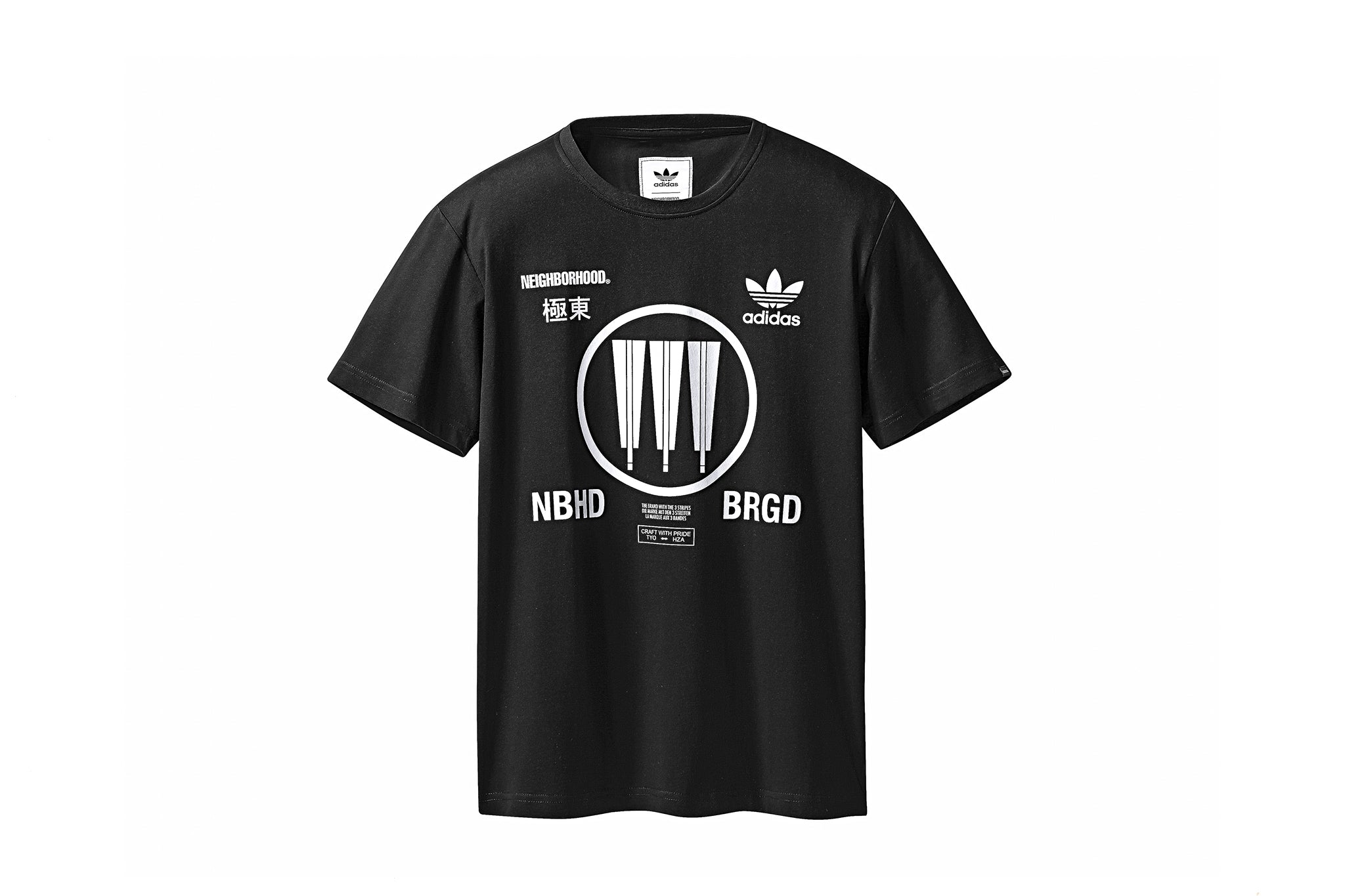 ADIDAS CONSORTIUM X NEIGHBORHOOD LOGO S/S T-SHIRT