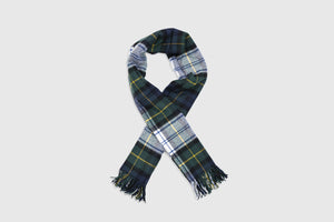 CDG SHIRT MENS TARTAN PLAID SCARF