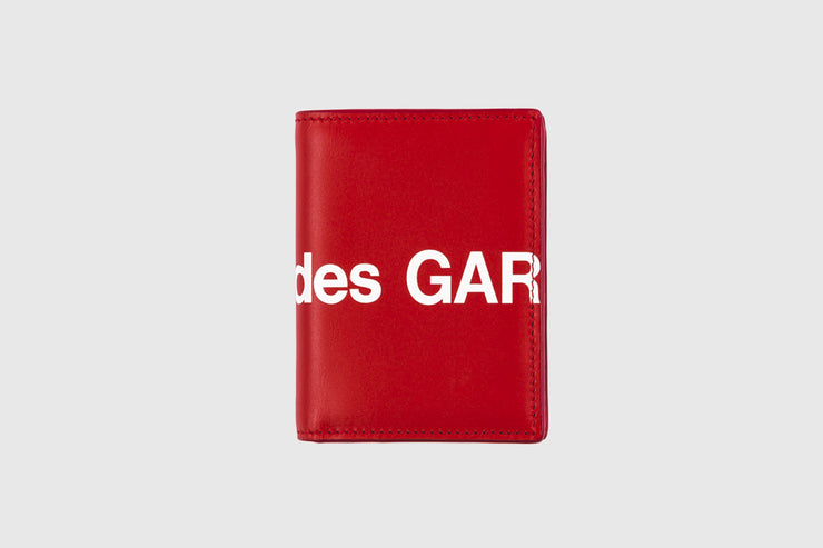 CDG WALLET HUGE LOGO WALLET