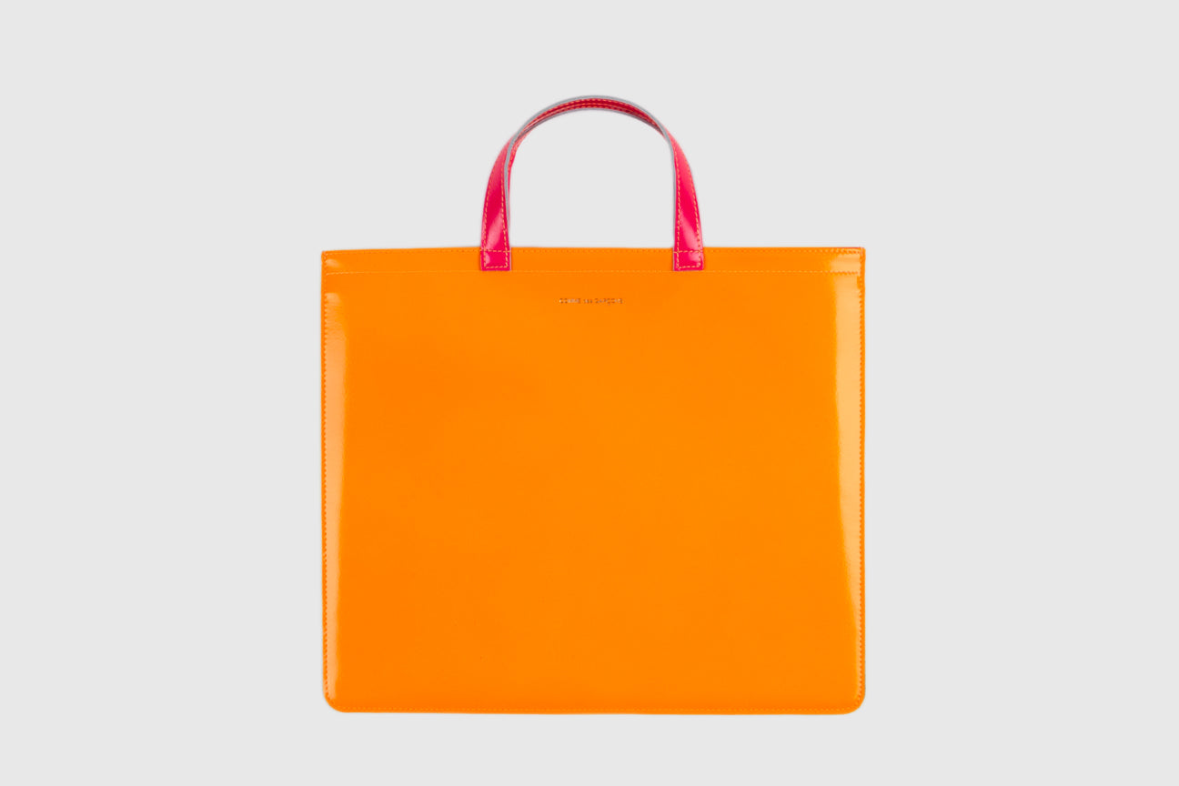CDG WALLET SUPER FLUO TOTE BAG