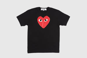 CDG PLAY RED BIG HEART S/S T-SHIRT