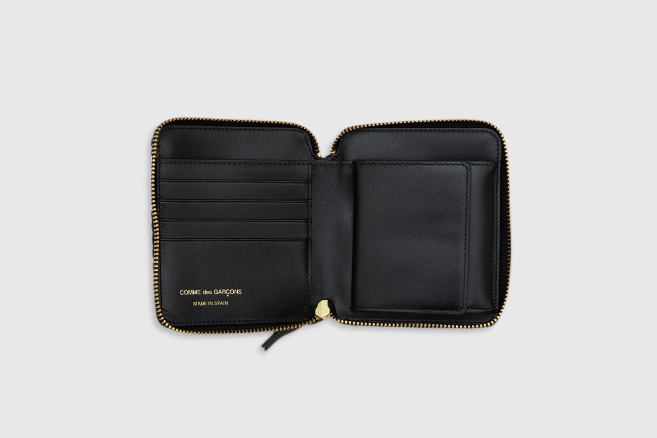 CDG WALLET FAT TORTOISE BI-FOLD WALLET