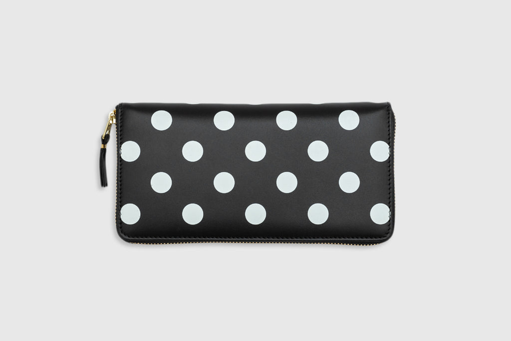 CDG WALLET POLKA DOTS LARGE WALLET