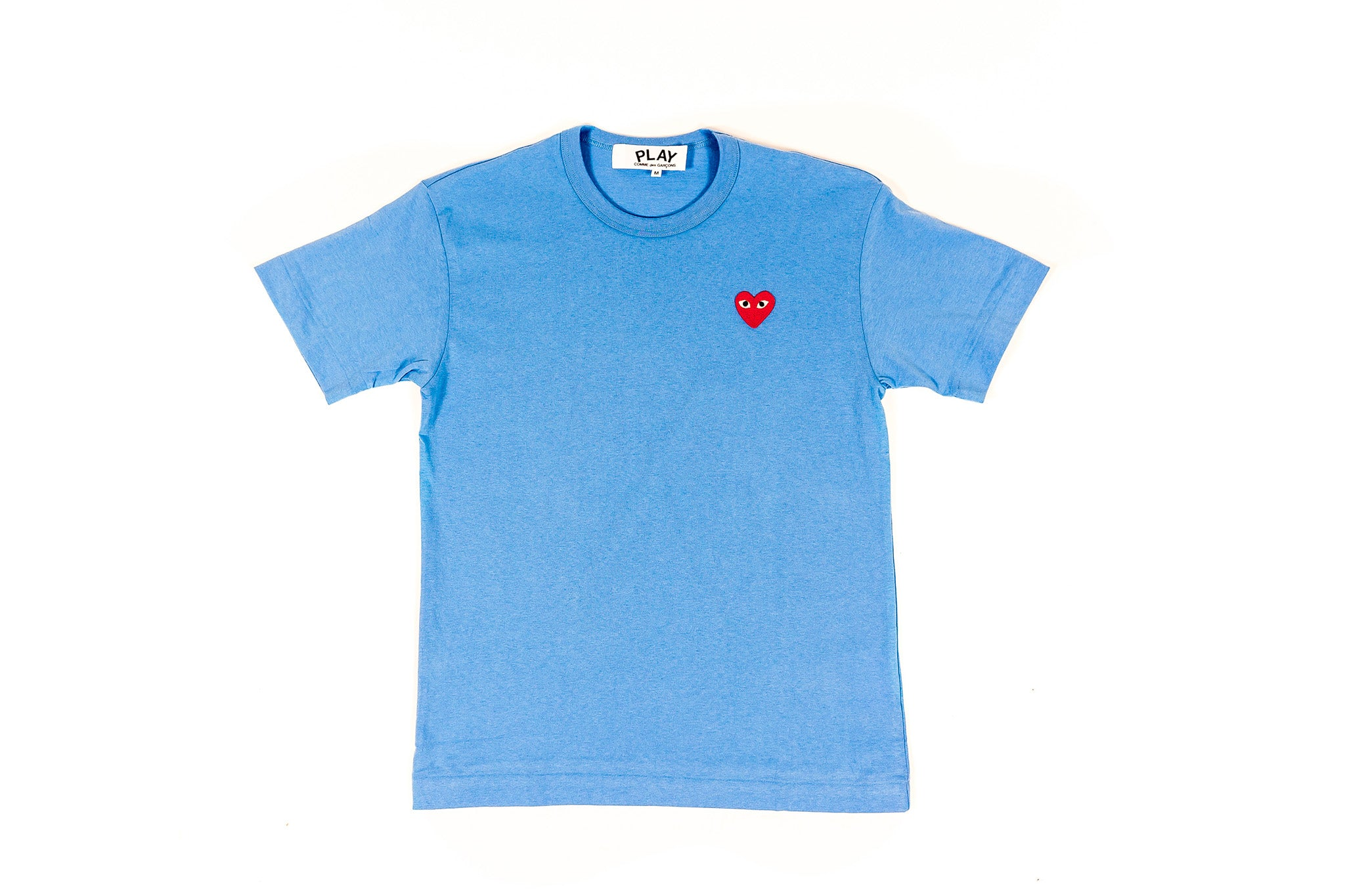 CDG PLAY BIG HEART S/S T-SHIRT