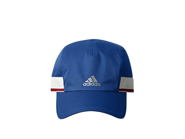 "ADIDAS ""RUN THRU TIME"" CAP - BLUE/WHITE/SCARLET"