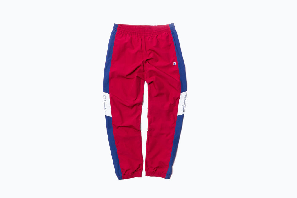 CHAMPION REVERSE WEAVE COLOR BLOCK TRACK PANT