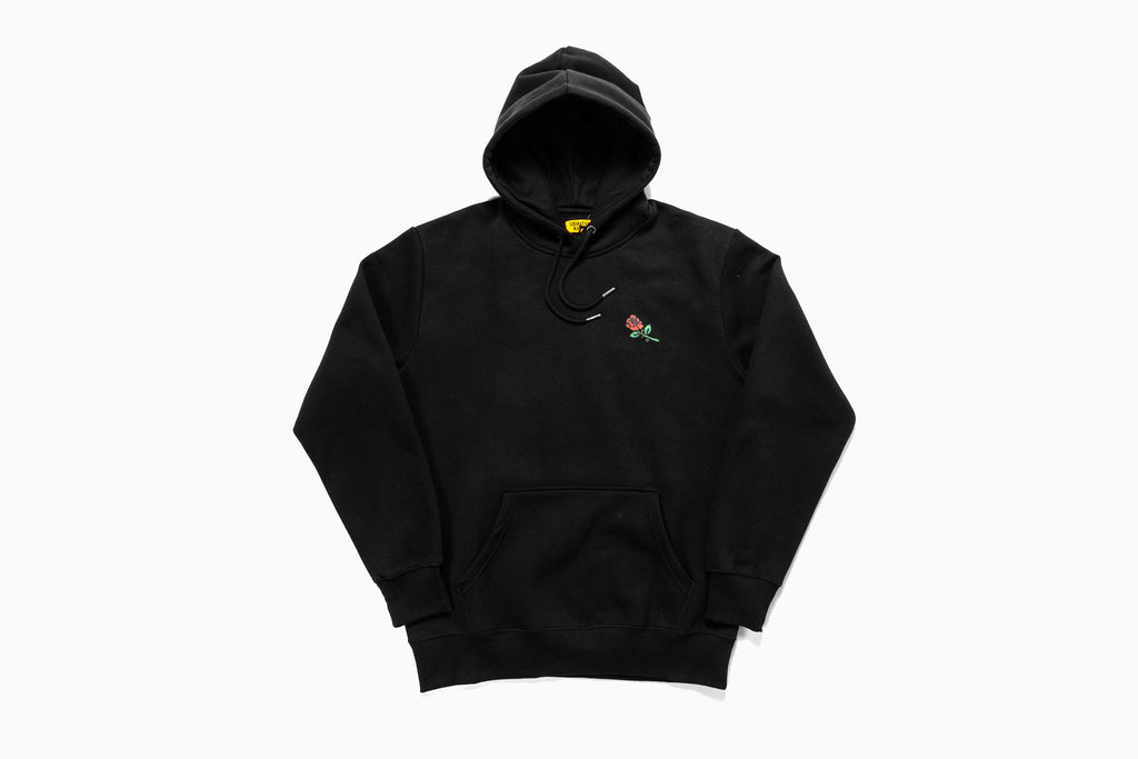 CHINATOWN MARKET THANK YOU ROSE  PULLOVER HOODY
