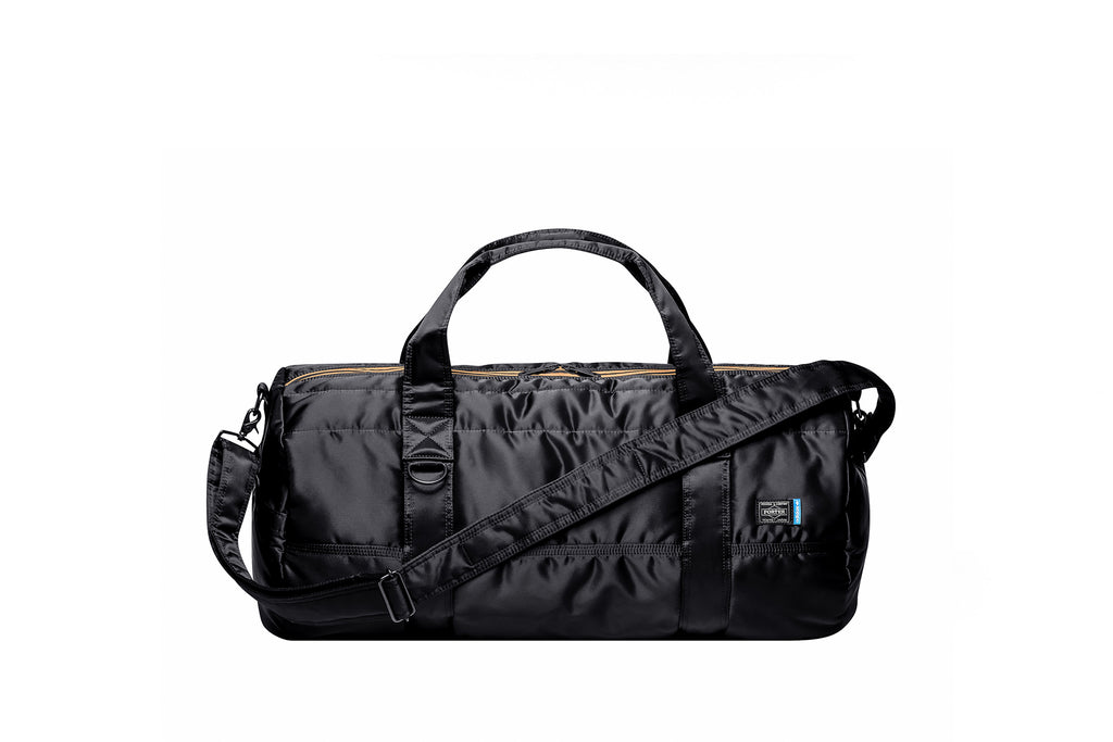 ADIDAS ORIGINALS BY PORTER 2WAY BOSTON BAG - BLACK
